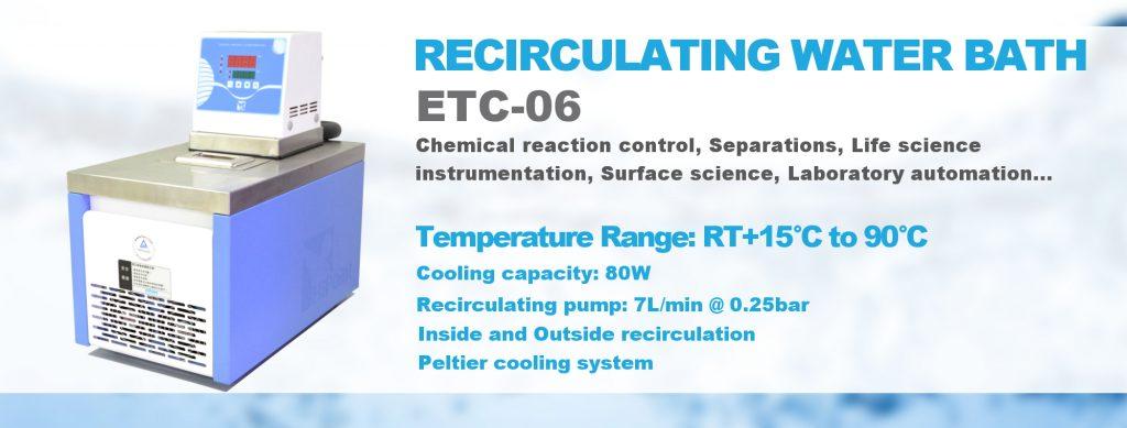 Bains à recirculation ETC-06