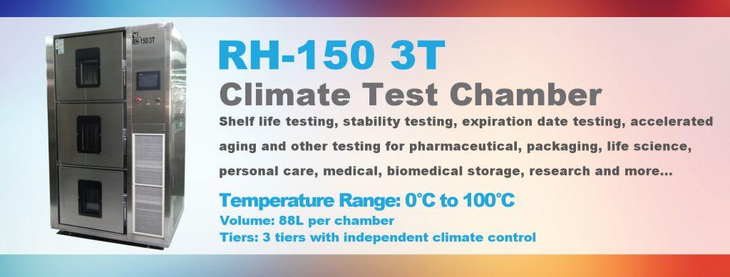 Chambre de test Climat RH-150-3T