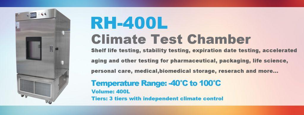 Chambre de test Climat RH-400L