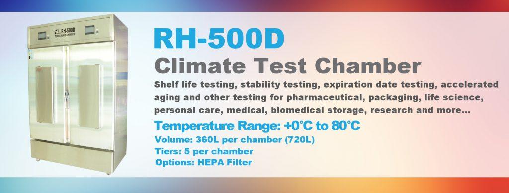 Chambre climatique rh 500d bionef for Chambre climatique