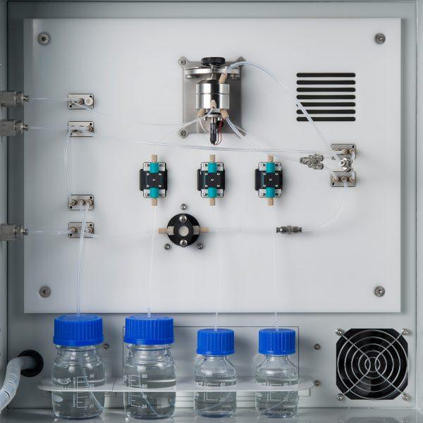 BACTcontrol: surveillance en ligne de l'activité bactérienne totale et spécifique (E.coli et coliformes) dans l'eau